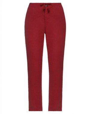 Повседневные брюки KATE. Цвет: кирпично-красный