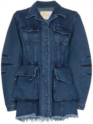 MarquesAlmeida джинсовая куртка с карманами Marques'Almeida. Цвет: синий