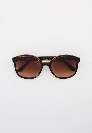 Очки солнцезащитные Karl Lagerfeld KL 314S 710. Цвет: коричневый