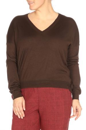 Пуловер Nina Ricci. Цвет: коричневый