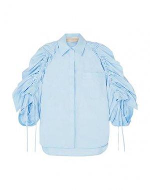 Pубашка ANTONIO BERARDI. Цвет: небесно-голубой