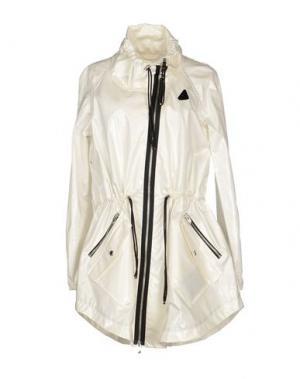 Легкое пальто HOGAN. Цвет: белый