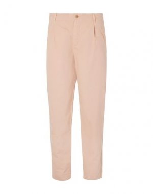 Повседневные брюки FOLK. Цвет: светло-розовый