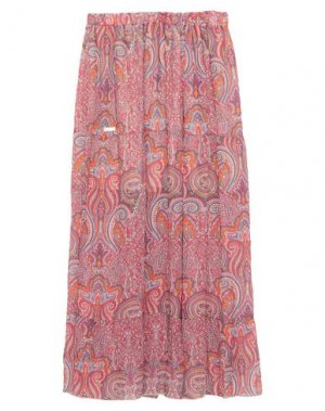 Длинная юбка CAFèNOIR. Цвет: светло-фиолетовый