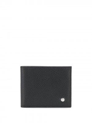 Складной кошелек Orciani. Цвет: черный