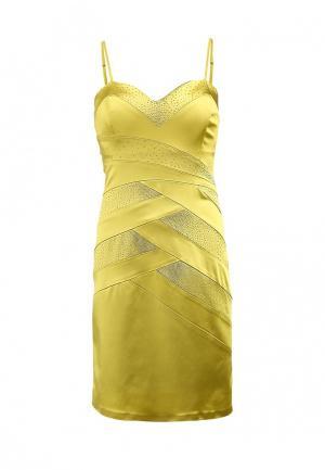 Платье Corleone. Цвет: желтый