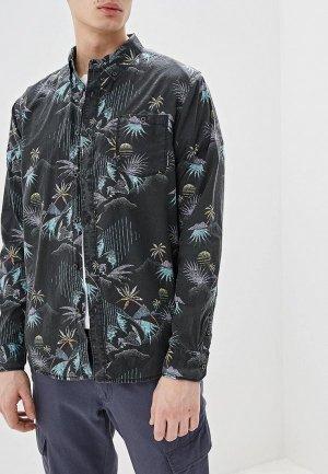 Рубашка Billabong SUNDAYS FLORAL LS. Цвет: черный