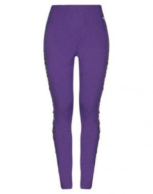 Легинсы FILA. Цвет: фиолетовый