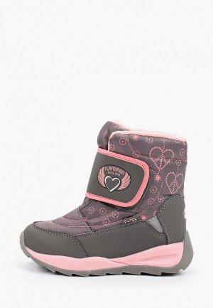 Ботинки Flamingo. Цвет: серый