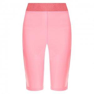 Спортивные шорты Heroine Sport. Цвет: розовый
