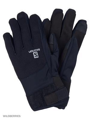 Перчатки GLOVES THERMO GLOVE SALOMON. Цвет: черный