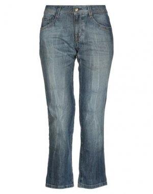 Джинсовые брюки-капри DL1961. Цвет: синий