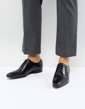 Черные кожаные оксфорды Murain-Черный Ted Baker
