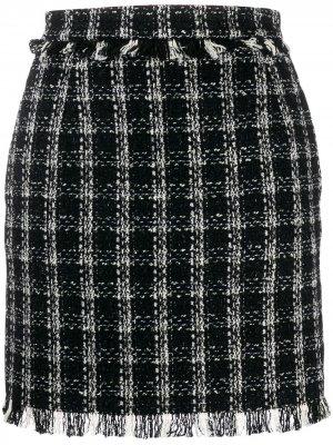 Твидовая юбка мини MSGM
