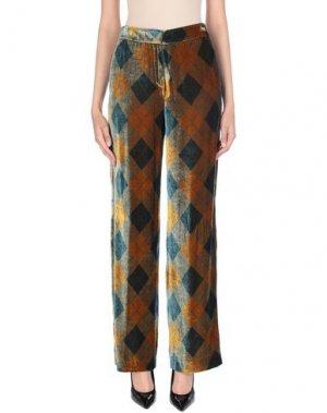 Повседневные брюки CAPPELLINI by PESERICO. Цвет: зеленый