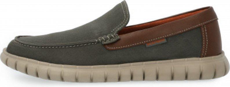Мокасины мужские New Slip-On, размер 46.5 Skechers. Цвет: зеленый