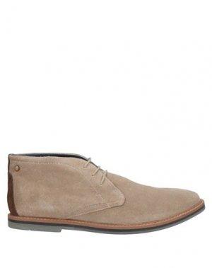 Полусапоги и высокие ботинки FRANK WRIGHT. Цвет: песочный