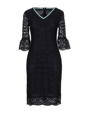 Короткое платье LAURÈL. Цвет: темно-синий