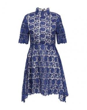 Короткое платье CATHERINE DEANE. Цвет: синий