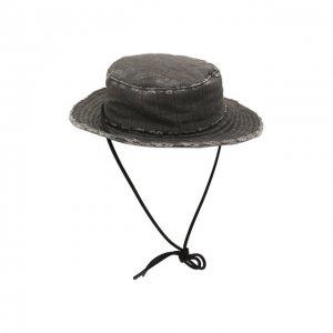 Хлопковая шляпа x A-COLD-WALL* Diesel Red Tag. Цвет: серый