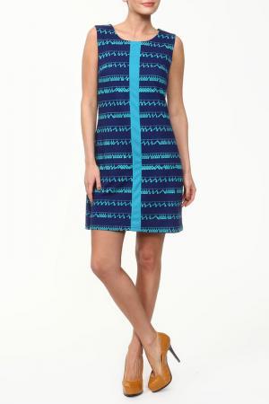 Платье GINGER+SOUL. Цвет: синий