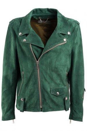 Куртка Golden Goose. Цвет: зеленый