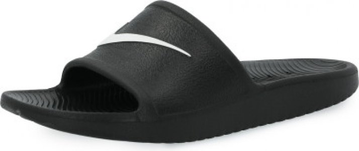 Шлепанцы для мальчиков Kawa Shower, размер 39 Nike. Цвет: черный