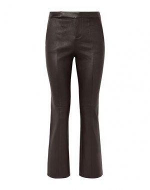 Повседневные брюки EQUIPMENT. Цвет: темно-коричневый