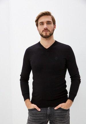 Пуловер Trussardi. Цвет: черный