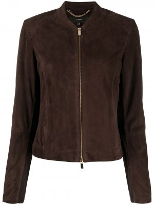 Куртка без воротника Arma. Цвет: коричневый