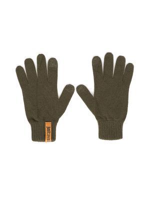 Перчатки Just Cavalli (Италия) O9200 5605. Цвет: хаки
