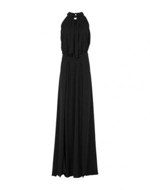 Длинное платье CASTING. Цвет: черный