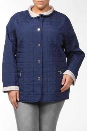 Куртка двухсторонняя GODSKE. Цвет: синий, бежевый