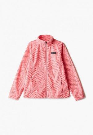 Олимпийка Columbia Benton Springs™ II Printed Fleece. Цвет: розовый