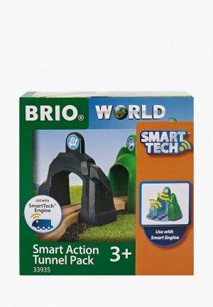 Конструктор Brio Smart Tech, Набор туннелей. Цвет: разноцветный