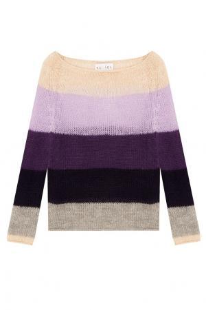 Полосатый вязаный пуловер Kuraga. Цвет: multicolor