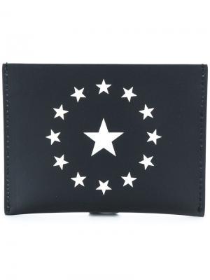 Визитница Star Givenchy. Цвет: чёрный