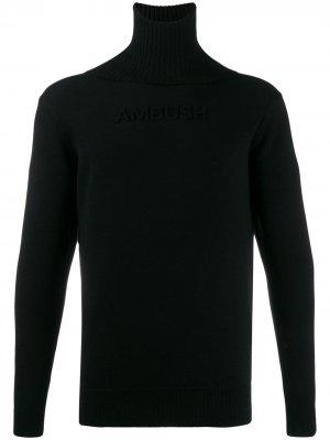 Водолазка с логотипом AMBUSH. Цвет: черный