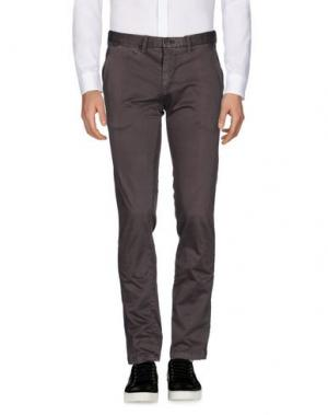 Повседневные брюки ERIC HATTON. Цвет: свинцово-серый