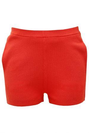 Шорты Allude. Цвет: красный