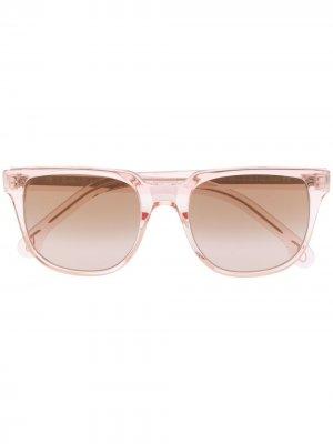 Солнцезащитные очки Aubrey в квадратной оправе PAUL SMITH EYEWEAR. Цвет: розовый