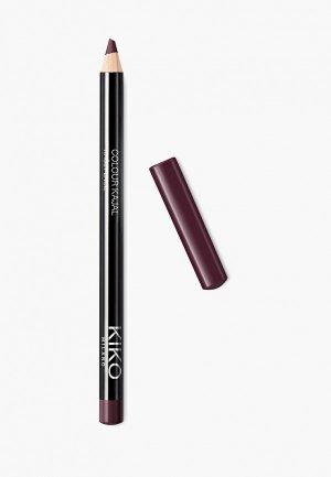 Карандаш для глаз Kiko Milano каял внутреннего контура век COLOUR KAJAL оттенок 11, Bordeaux, 1.05 г. Цвет: бордовый