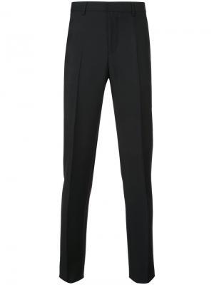 Строгие классические брюки Givenchy. Цвет: чёрный