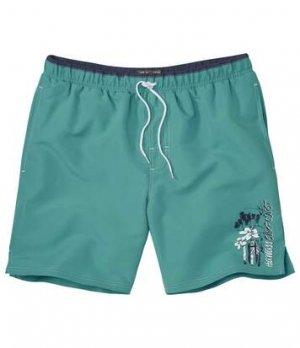 Пляжные Шорты Atlas For Men. Цвет: зеленый