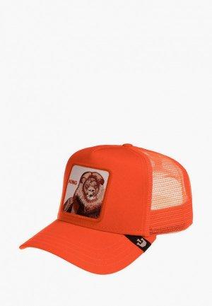 Бейсболка Goorin Brothers. Цвет: оранжевый