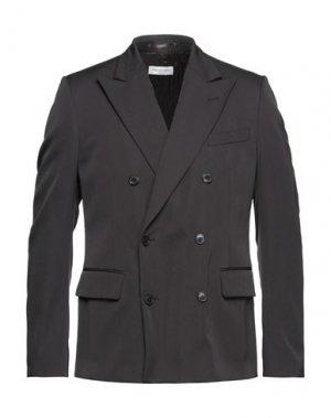 Пиджак DRIES VAN NOTEN. Цвет: темно-коричневый