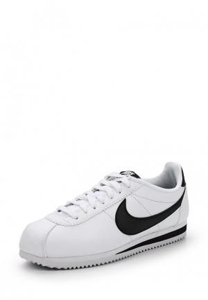 Кеды Nike CLASSIC CORTEZ LEATHER WOMENS SHOE. Цвет: белый