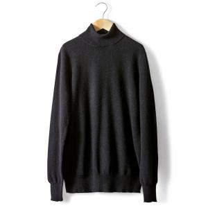 Пуловер классический из кашемира La Redoute Collections. Цвет: серый меланж