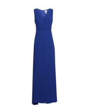 Длинное платье CASTING. Цвет: синий
