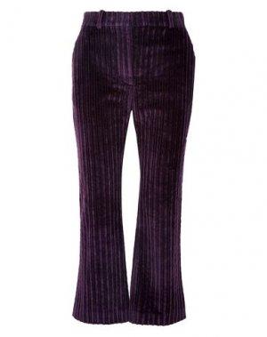 Повседневные брюки ALTUZARRA. Цвет: фиолетовый